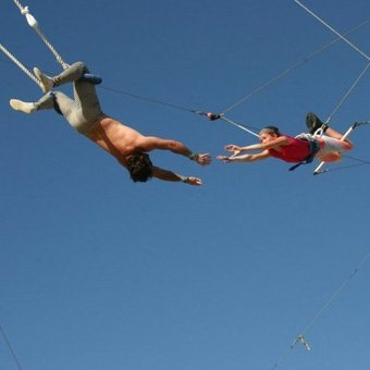 Trapeze Lessons in San Diego