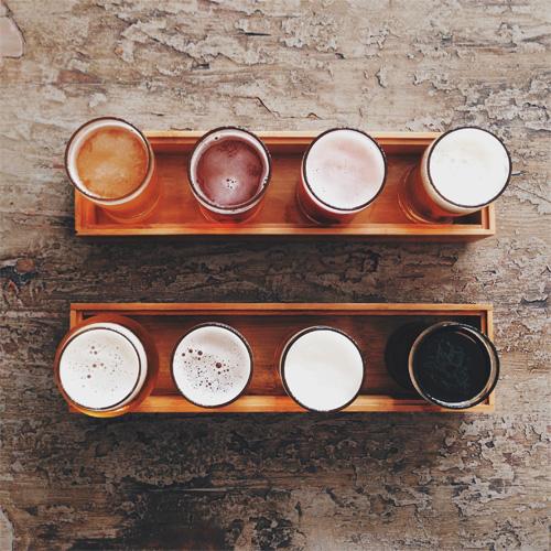 Beer Flight in Houston