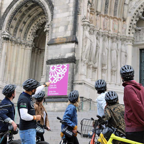 Guided Bike Tour in Harlem