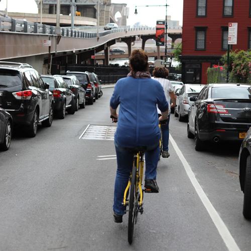 Biking in New York City