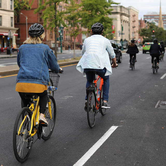 Guided Biking in New York