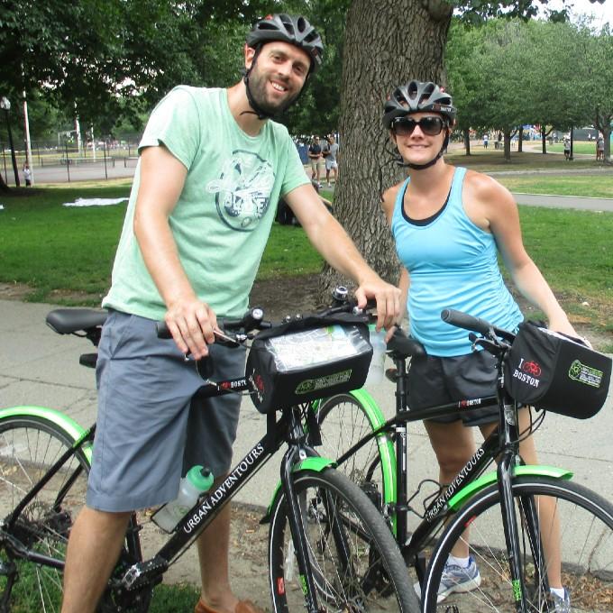 Sightseeing Bike Tour in Boston