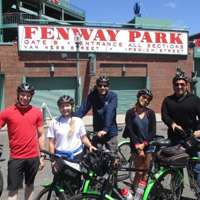 Boston Guided Bike Tour