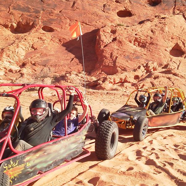 Dune Buggy Ride near Las Vegas