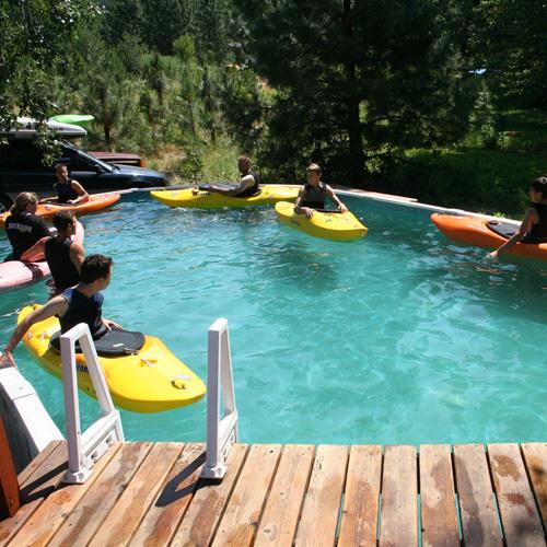 Kayaking Pool Lesson in Portland