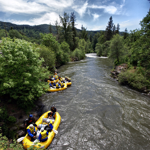 White Salmon River Whitewater Rafting in Portland