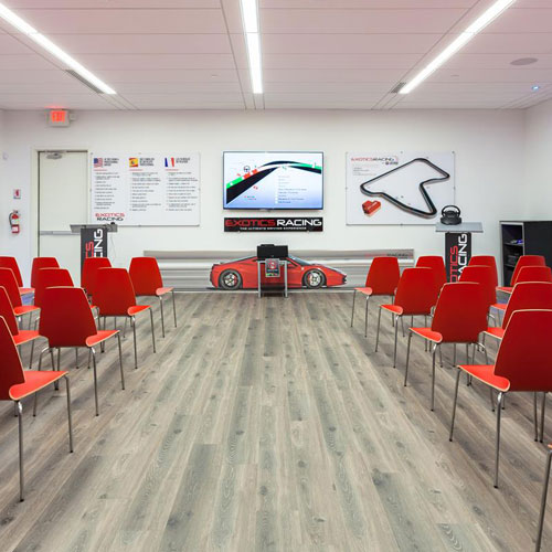 Pre-Race Classroom Session at Las Vegas Motor Speedway