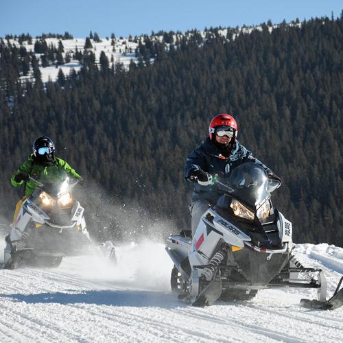 Advanced Snowmobiling Tour