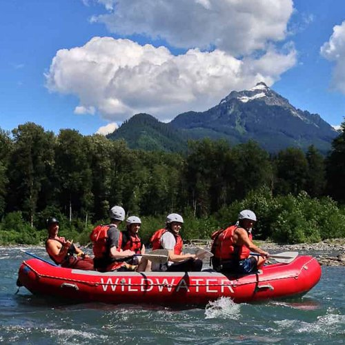 Raft the Whitewater of the Sauk River
