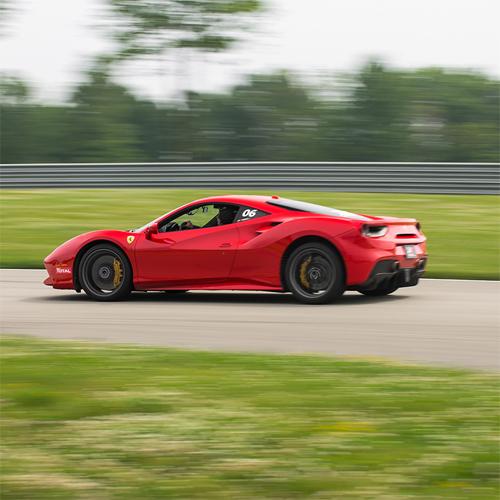 Race a Ferrari 488 GTB in Houston