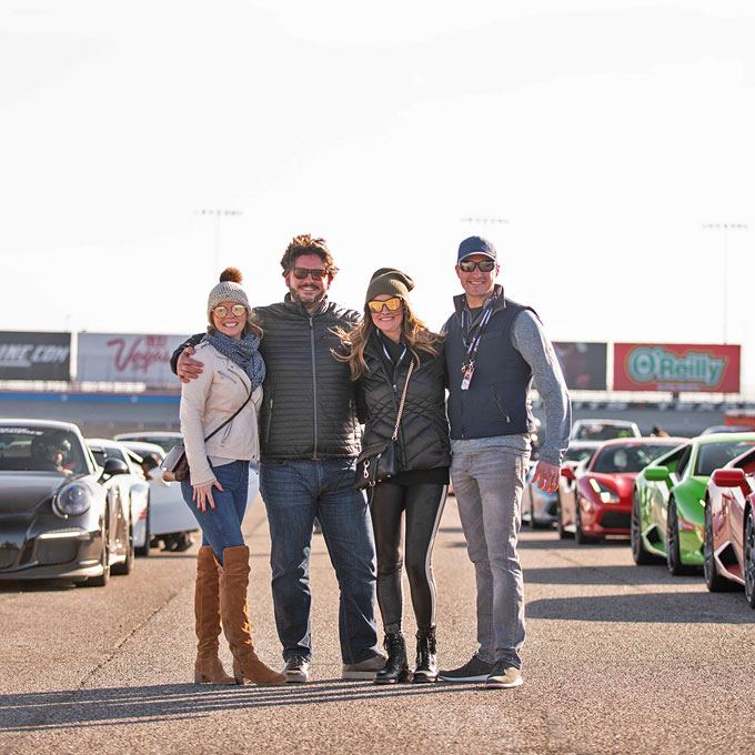 Exotic Car Racing Experience at Auto Club Speedway