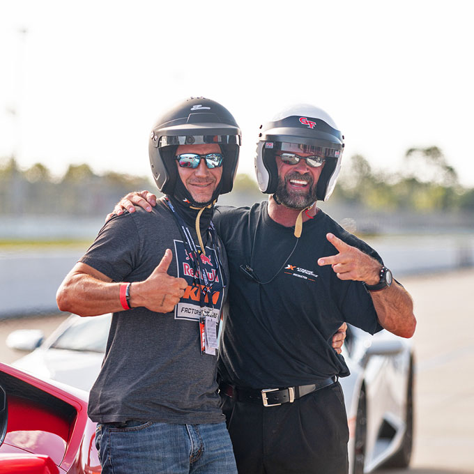 Happy Customers after Driving Experience