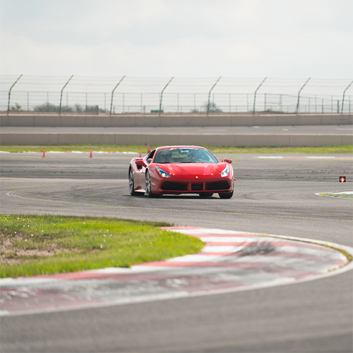 Drive a Ferrari 488 GTB at the race track