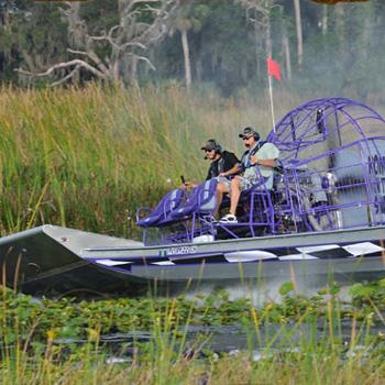 Drive an Airboat near Orlando