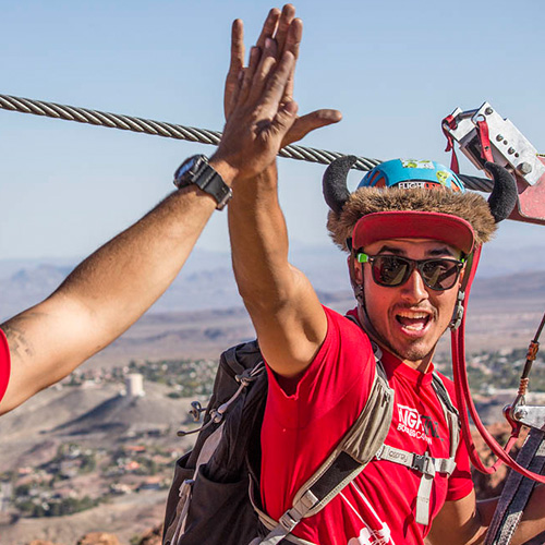 Exciting Zipline Adventure in Nevada