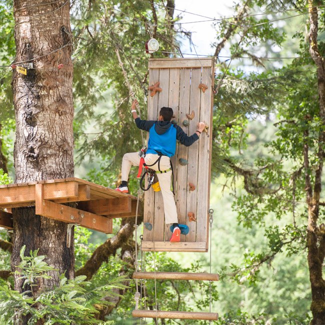Portland Aerial Obstacle Course