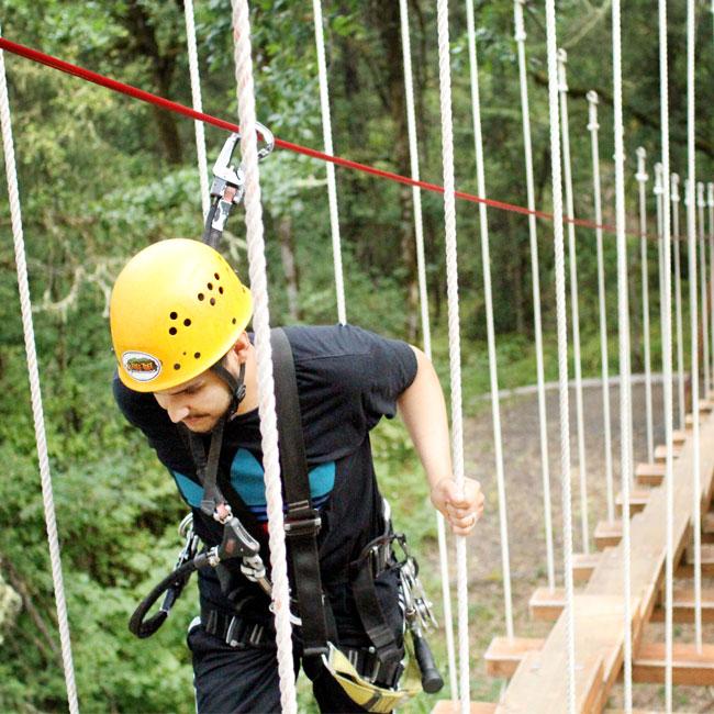 Portland Canopy Adventure Course